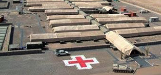 The military field hospitals