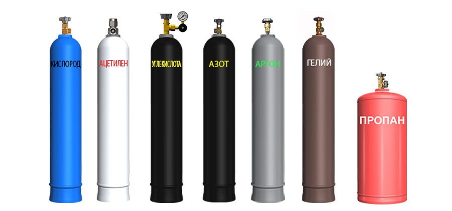 Gas cylinders - upgrade of state regulation
