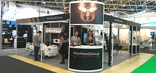 Representation of WestMedGroup at the 28th exhibition